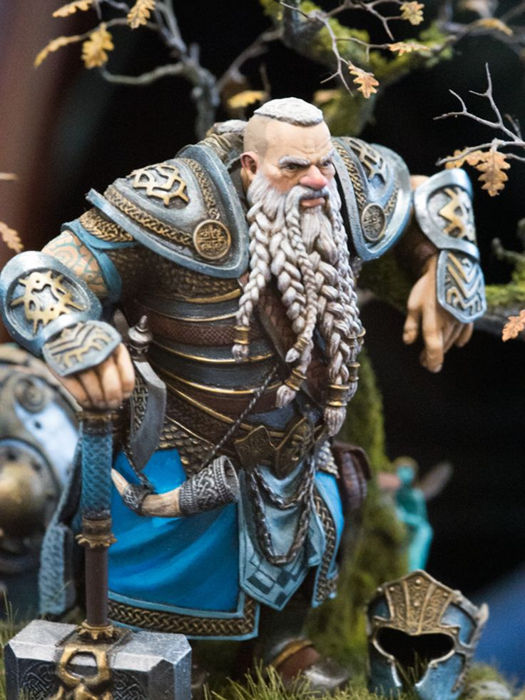 Miniature Armor-clad Warrior