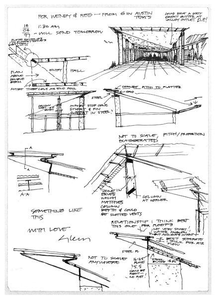 The Arthur  Yvonne Boyd Education Centre, Riversdale, Australia. Architect: Glenn Murcutt