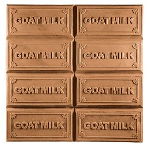 "Goatsmilk Tray Milky Way Soap Mold. Ounces Per Bar: 4 each. Dimensions: 4"" x 2"" x 1.125"". For Soap Making."