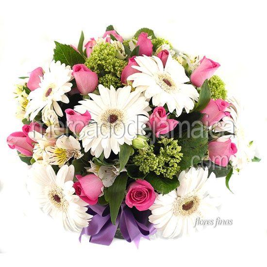 Bouquet de Gerberas Blancas A Tu Lado !| Envia Flores