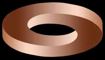 Impossible Circle Illusion.  http://www.illusionspoint.com/illusions/3d-optical-illusion/page/3/