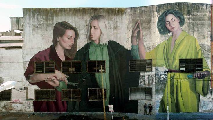 Colectivo Licuado - New artwork in Buenos Aires Argentina - Colectivo Licuado are: Theic and Fitz, an artistic collective originally from Uruguay.