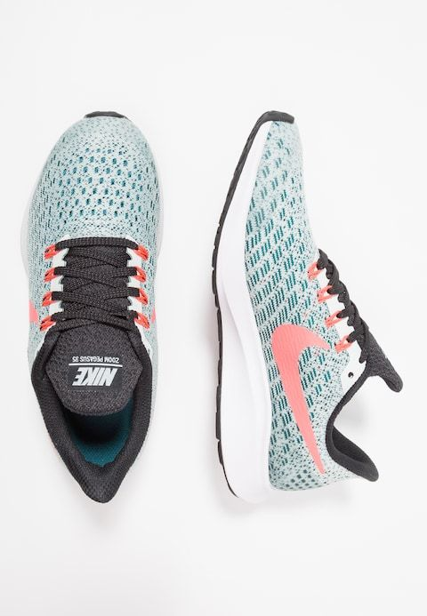 hot sale online be3ba 73351 Nike Performance AIR ZOOM PEGASUS 35 - Neutrala löparskor - barely greyhot  punch