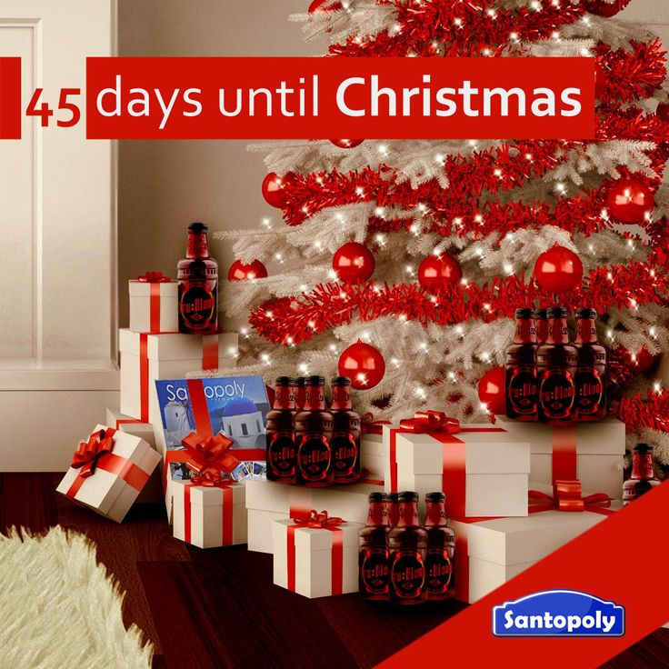 45 days until Christmas...