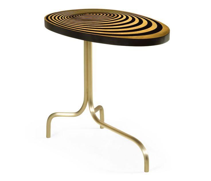 Oval Sofa Table with Tripod Base  #JCmodern #jonathancharles #jonathan_charles_russia #jonathancharlesrussia #jonathancharlesfurniture