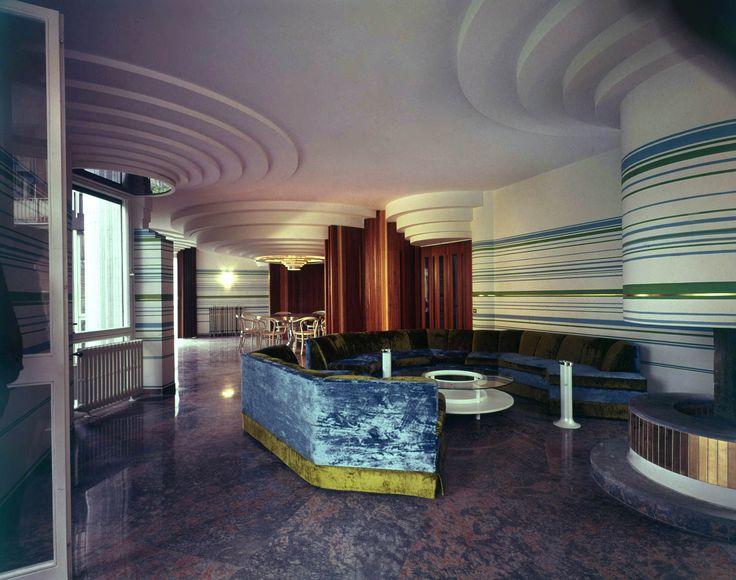 House Papanice, Rome, Italy, Paolo Portoghesi, 1970