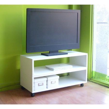 Mesas Para Tv Lcd Led Plasma Ruedas Modulo Modular Emuebles