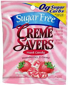 Creme Savers Hard Candy scores a 37 for me on ShopWell. Click for your score. (http://www.shopwell.com/creme-savers-hard-candy-creme-savers-strawberries-creme-sugar-free/candy/p/1900000067?f=at)