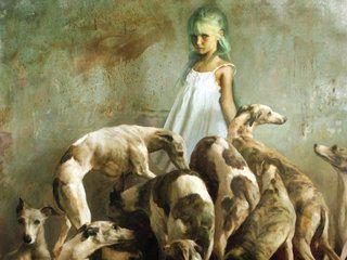 Fragmento obra Laura y los perros