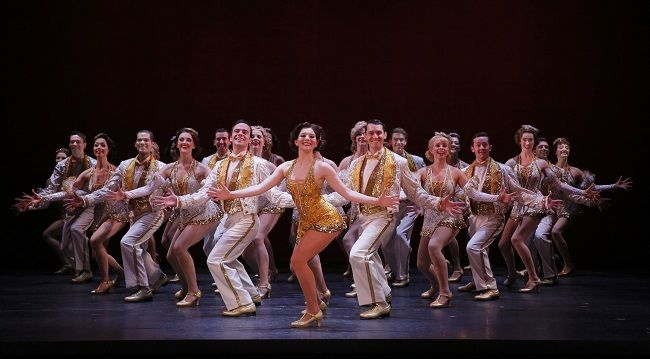 http://triangleartsandentertainment.org/wp-content/uploads/2016/05/42ndStreetPHOTO497-DPAC2016.jpg - 42nd Street: The Song-and-Dance Fable of Broadway Will Play DPAC on May 3-8 - Caitlin Ehlinger (center) stars as Peggy Sawyer in 42nd Street (photo by Chris Bennion) Troika Entertainment's 2015-16 Non-Equity National Tour of 1981 Best Musical Tony Award® winner and the ultimate backstage musical, 42nd Street: The Song-and-Dance Fable of Broadway, will roar into the ...