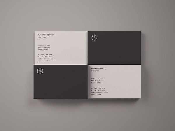 Free Business Card Mockup Top View Business Card Mock Up Free Business Card Mockup Business Card Fonts