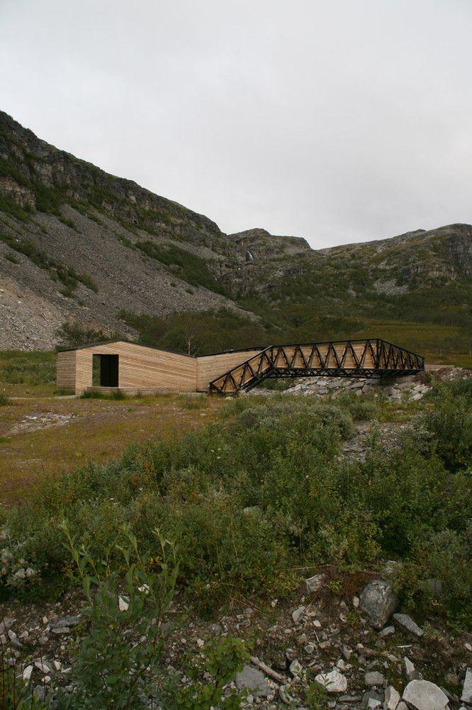 Gallery of Lillefjord Rest area & footbridge / Pushak - 3