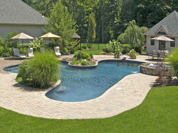 Awesome Pools Backyard Design Beauteous Design Decoration