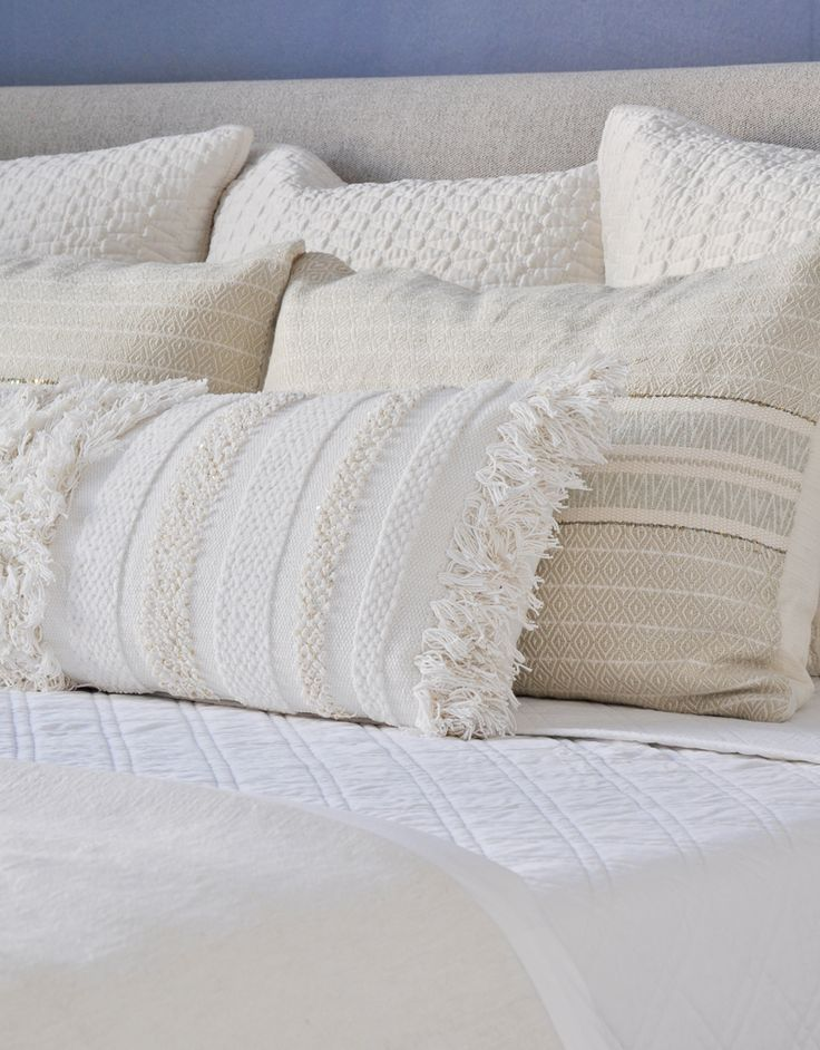 . Bed Making   Step by Step   White Home Decor Ideas   How to make bed