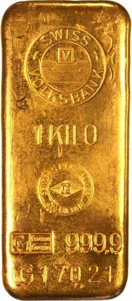 lingot d'or d'un kilo YESSS !!!!