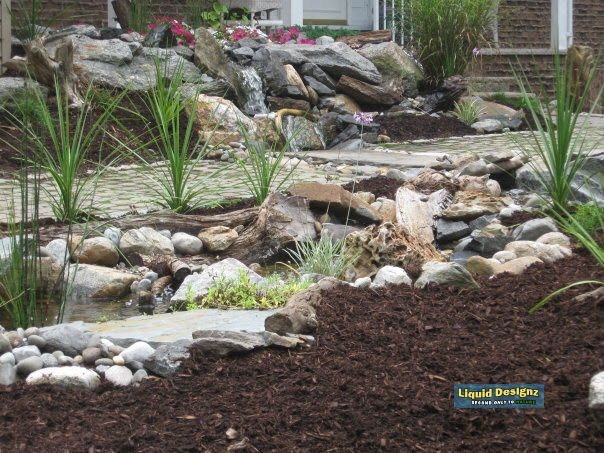 Rainwater Harvesting and self sustainable water feature