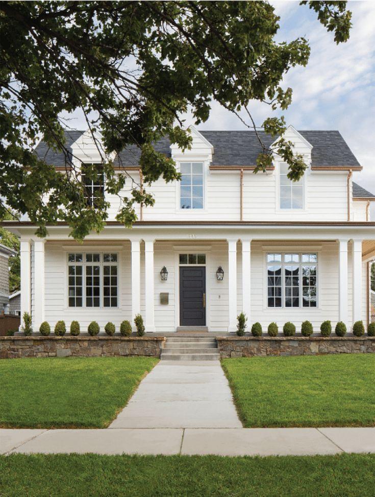 The Best Classic White Farmhouse Inspiration | White ...