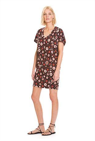 Floral Wedge Dress