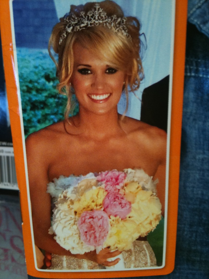 Loved Carrie Underwood's look!  Wedding day Happiness! Seriously, nothing like it! Best day of my life!