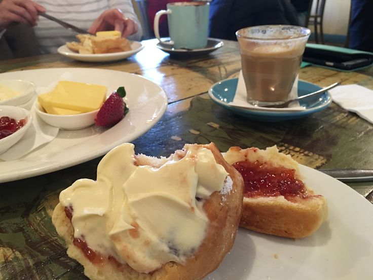 Afternoon tea at Blue Mist Cafe in Wentworth Falls