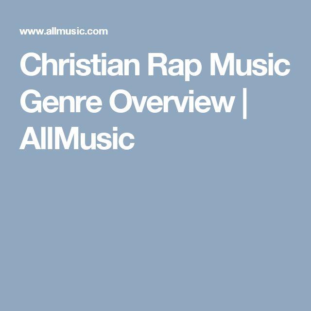 Christian Rap Music Genre Overview | AllMusic