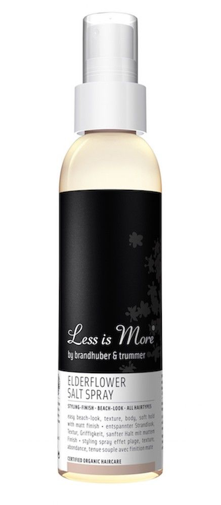 Less is More | Elderflower Suolasuihke