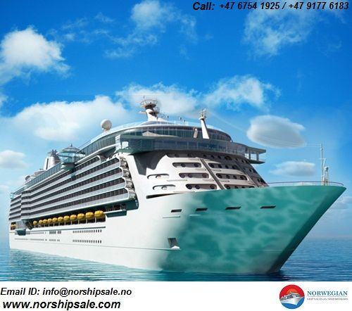 We are in Norwegian ship sales keep track of all #cruise, #ferries and roro #vessels for sale on a worldwide basis. For more call us +47 6754 1925 / +47 9177 6183  www.norshipsale.com