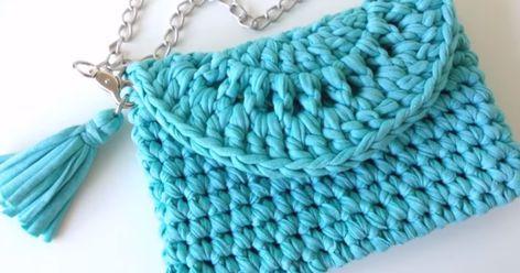 De Tutorial Bolso Cómo Crochet Un Clutch Fácil Hacer O Mano Paso A qEUzEr