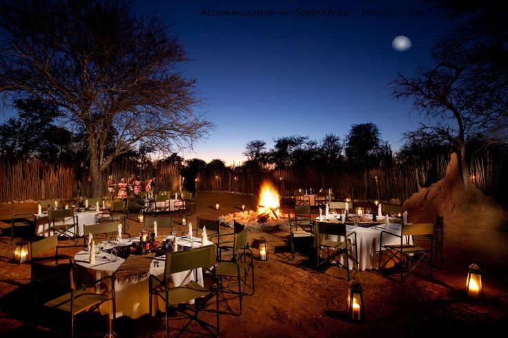 Enjoy beautiful nights at Mokuti Etosha Lodge. http://www.accommodation-in-southafrica.co.za/Namibia/Tsumeb/MokutiEtoshaLodge.aspx