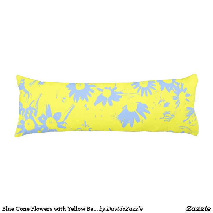 Blue Cone Flowers with Yellow Background Available on more products, type in the name of this design in the search bar on my products page to view them all!  #daisy #cone #shasta #calendula #floral #flower #yellow #blue #pattern #print #all #over #abstract #plant #nature #earth #life #style #lifestyle #chic #modern #contemporary #throw #pillow #home #decor