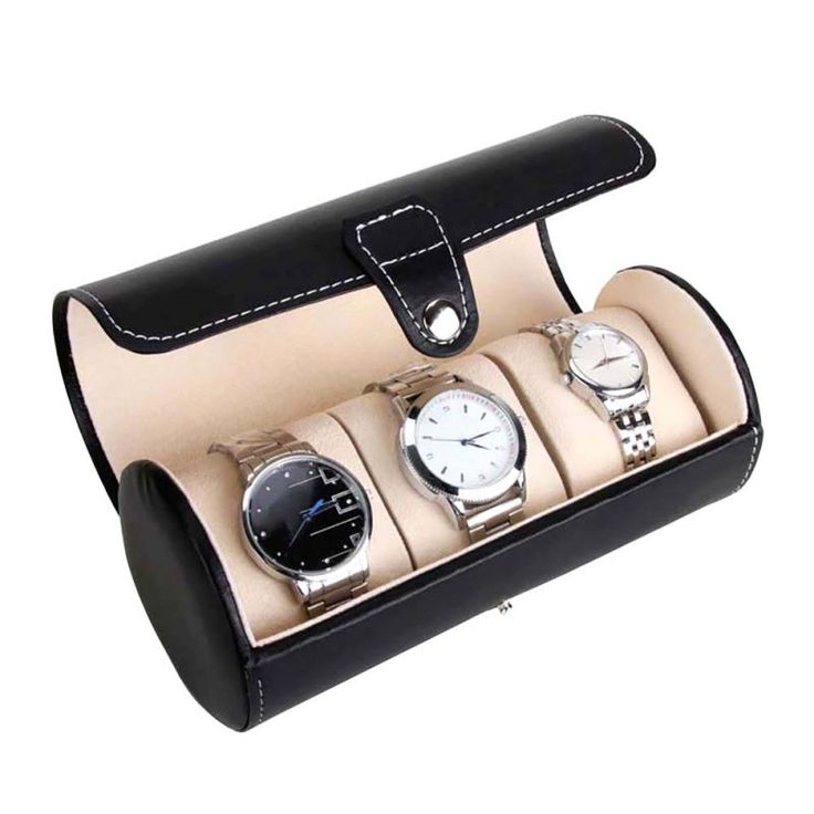 3 Slot Antique Watch Travel Case PU Leather Roll Box Collector Organizer Jewelry Storage #>=#>=#>=#>=#> Click on the pin to check out discount price, color, size, shipping, etc. Save and like it!