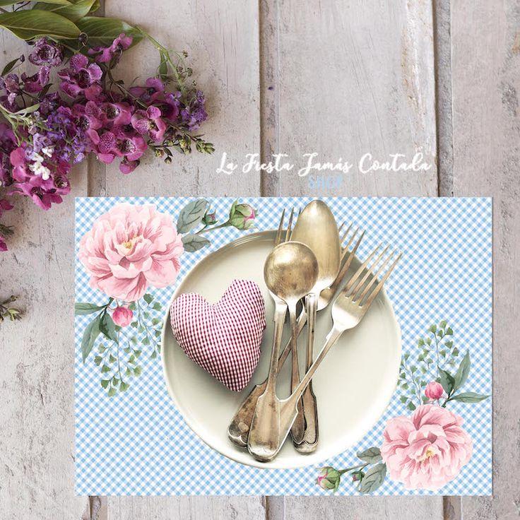 Pack de salvamanteles románticos - 8 unidades.  Ideales para decorar las mesas de los invitados a una Comunión, boda, cumpleaños o cualquier evento.  Sirve como centro de mesa o para colocar debajo de los platos, para decorar y hacer más bonita tu fiesta.  Tamaño: 29x21 cm.  Se sirven en diseños combinados.