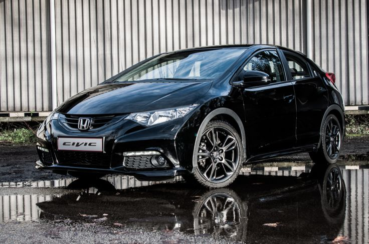 Honda Civic 2014 Black Edition concept  Honda  Pinterest  Honda