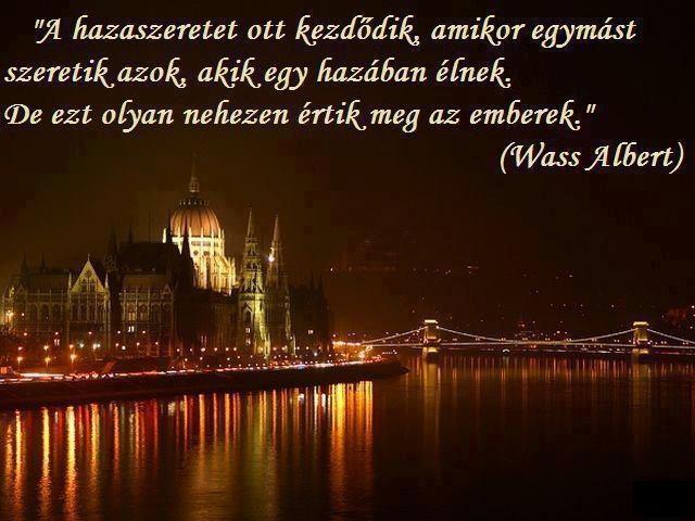 Wass albert idézete a hazaszeretetről. A kép forrása: Szép képek-idézetek-minden mi irodalom