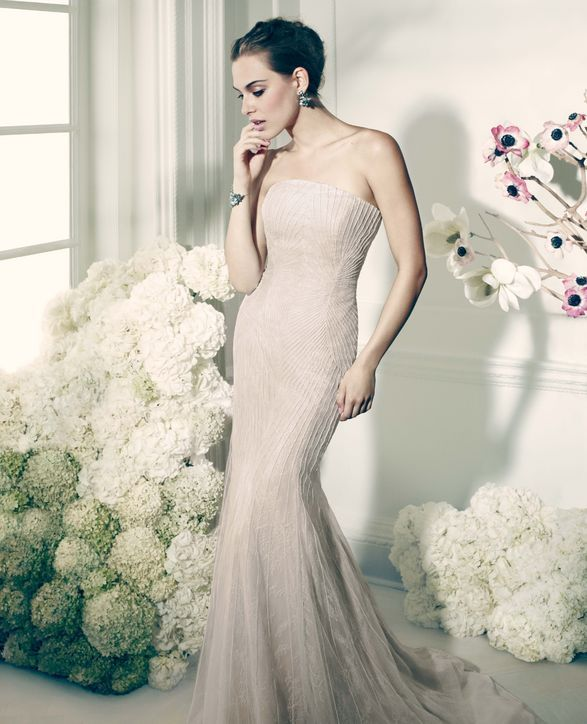 An Exclusive First Look at Zac Posen's Seriously Affordable Wedding Gowns and Social Occasion Dresses for David's Bridal, With Behind-the-Scenes Photos!