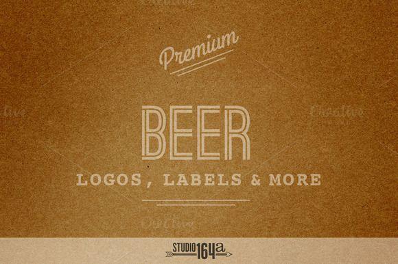 Premium Beer Logos, Labels & More by Studio 164a