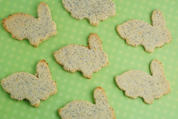 Zest + Poppy Cookies via @iquitsugar