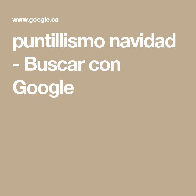 puntillismo navidad - Buscar con Google