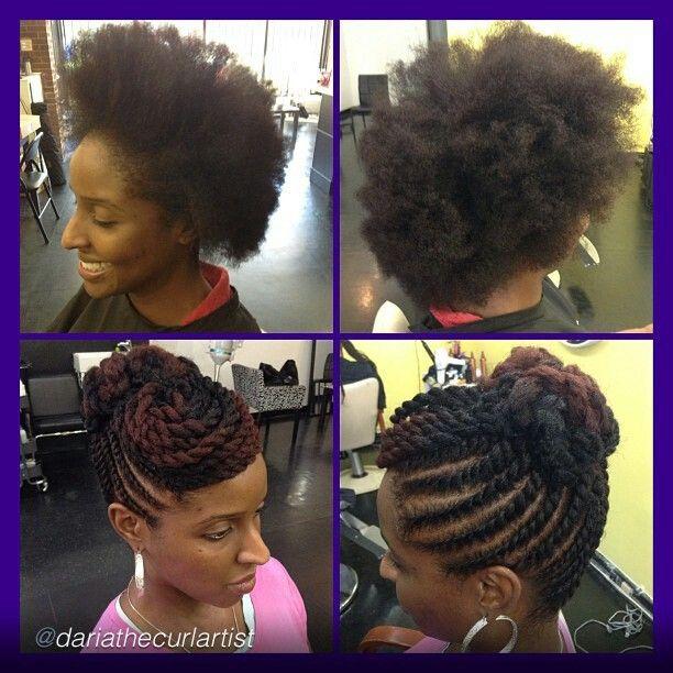 Enjoyable 1000 Ideas About Flat Twist Updo On Pinterest Flat Twist Short Hairstyles Gunalazisus