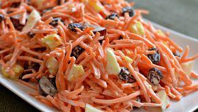 Salade de carottes allégée et raisins secs   Maigrir Sans Faim