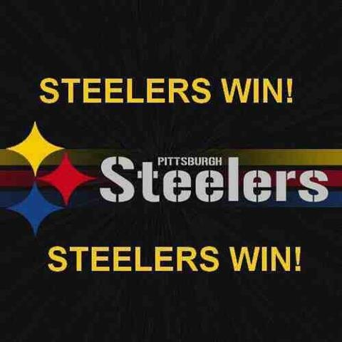 Steelers Win!