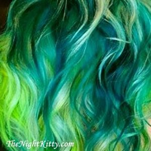 Atomic green hair dye for sale - TheNightKitty.com