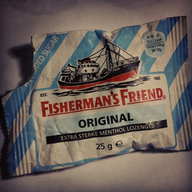 Fisherman's Friend. The best.