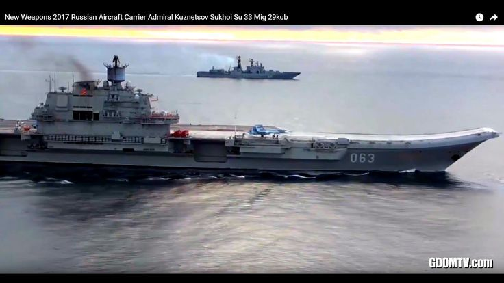 SOLITUDE video of the New Weapons 2017 -  Russian Aircraft Carrier Admiral Kuznetsov Sukhoi Su 33 Mig 29kub - Youtube video channel George Dominik TV Official Website: gdomtv.com New Russian Weapons - Russian Army Action NAVY Armed Forces  George Dominik