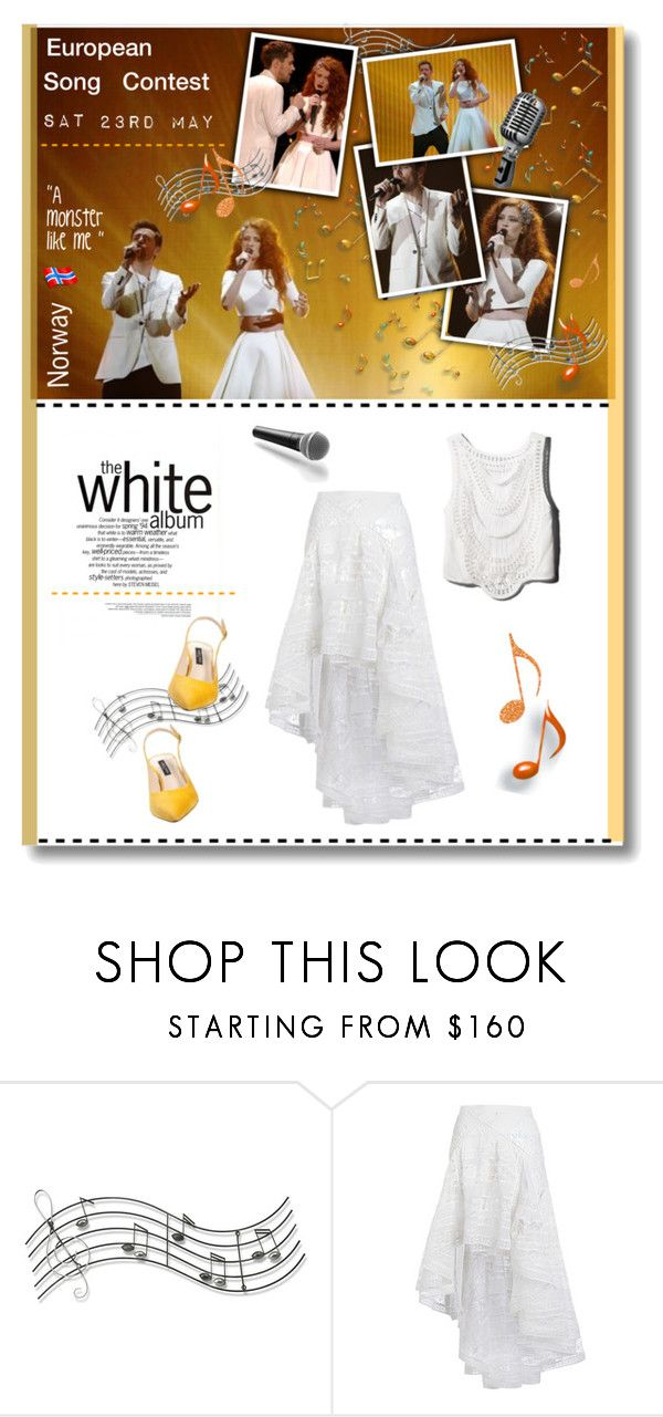 """""""European Song Contest 2015"""" by anne-irene ❤ liked on Polyvore featuring Music Notes, H&M, Zimmermann, Guide London, Giallo, norway, polyvoreeditorial, amonsterlikeme and esc2015"""