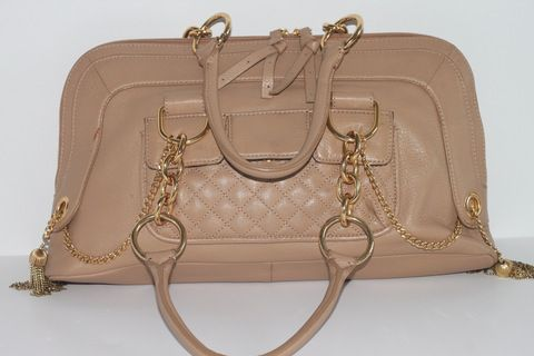 BCBG Maxazria Beige Leather Bag (www.Lenchylux.com)