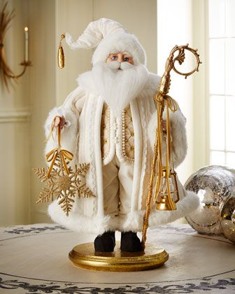 "Golden 20""T Santa at Horchow. #HorchowHoliday14"