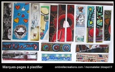 marques-pages à plastifier monnatelier.blogspot.fr