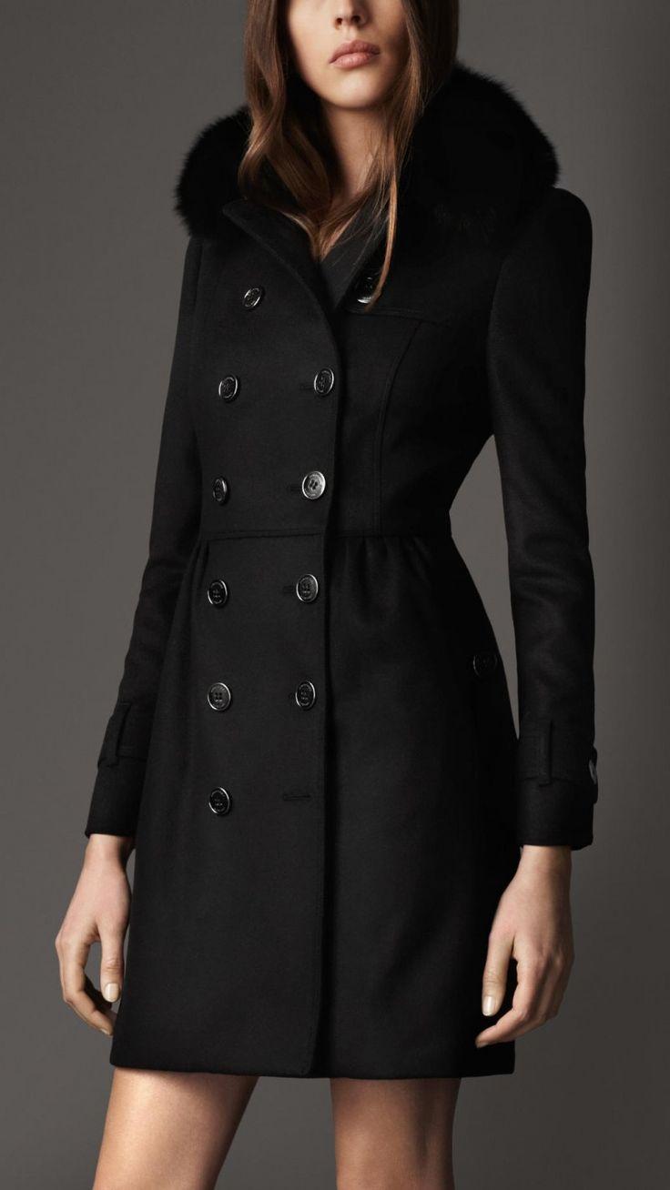 23 best Spectacular Black Trench Coat Women images on Pinterest ...