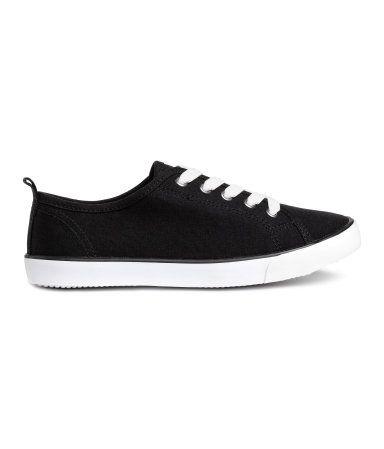 Sneakers | Sort | Børn | H&M DK